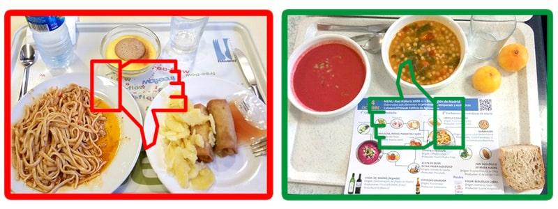 #MuestraTuMenú por unos comedores saludables